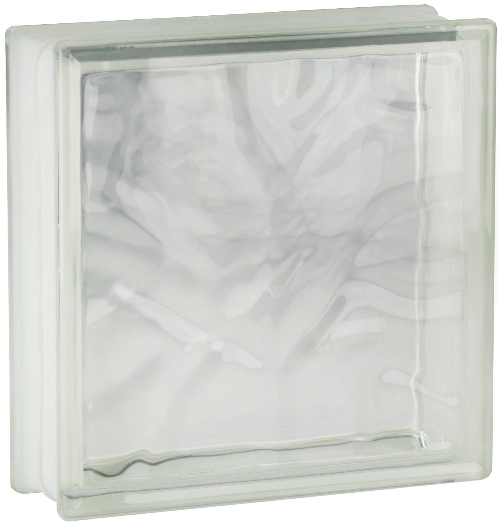 5 St/ück Fuchs Glassteine Wolke Grau 19x19x8 cm